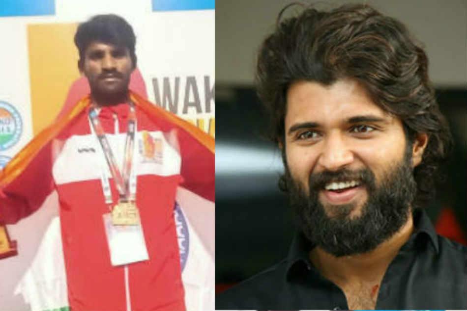 Hero Vijay Deverkonda Helped To Kick Boxing Player Ganesh Embari