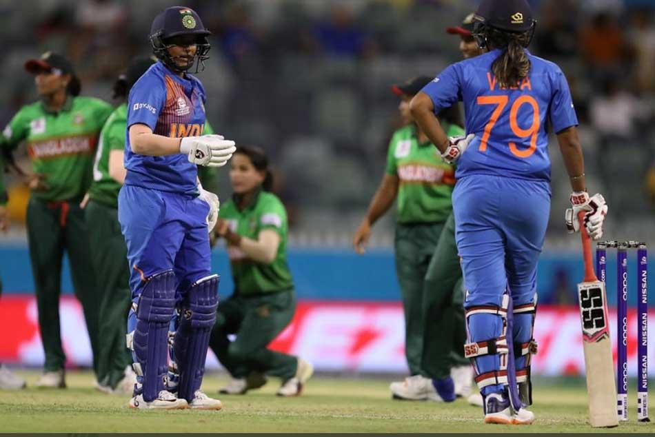 మహిళల టీ20 ప్రపంచకప్: మెరిసిన రోడ్రిగ్స్, షెఫాలీ.. బంగ్లా లక్ష్యం 143