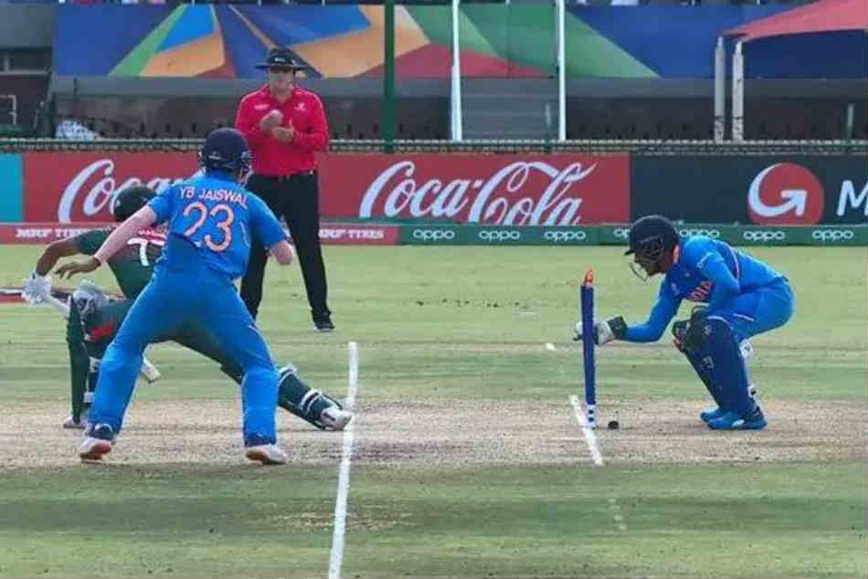 Dhruv Jurel's lightning fast stumping draws comparisons from MS Dhoni