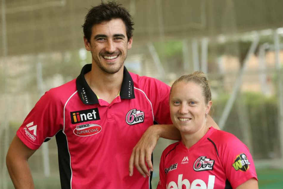 Image result for mitchell starc alyssa healy