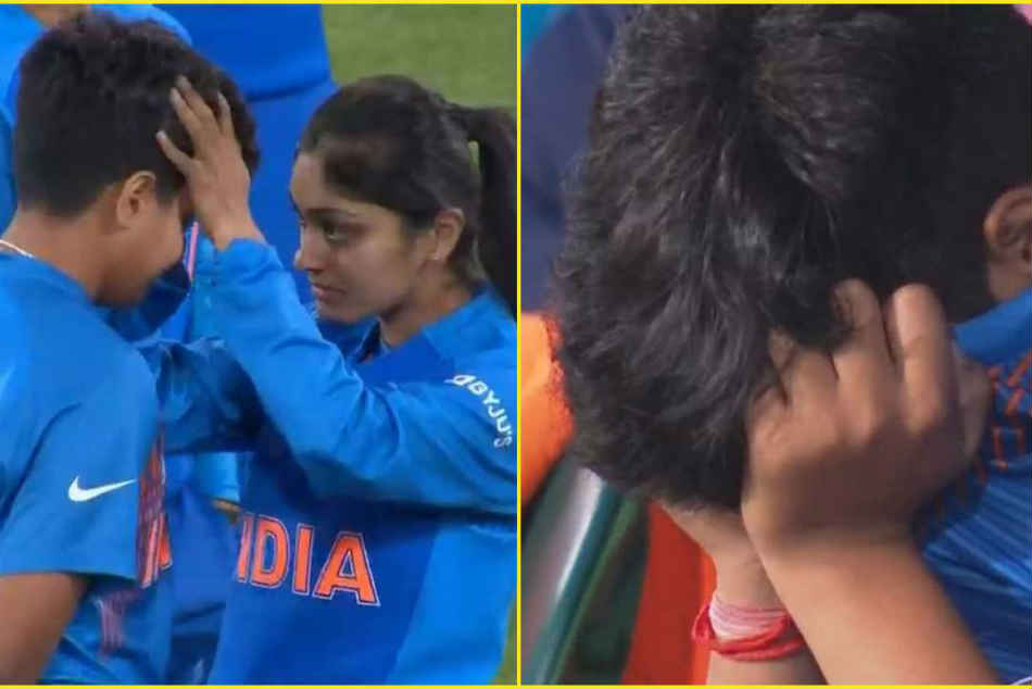 Shafali Verma in tears after India lose T20 World Cup final against Australia