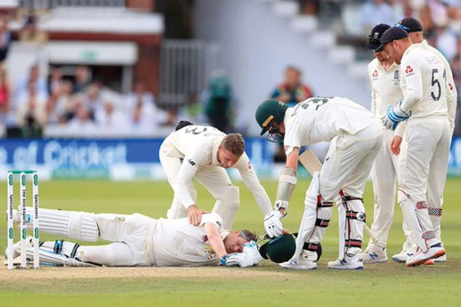 David Warner Recalls Steve Smith Being Hit On Head During Ashes 2019