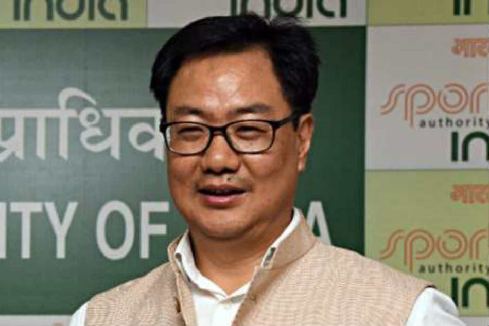 Sports Minister Kiren Rijiju Tweeted Don T Lose Spirit Keep Focussing On Training