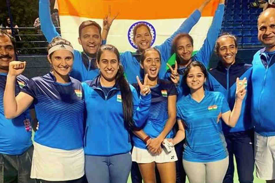 Ankita Raina Stars as India Enter Fed Cup Play-Offs For First Time in History