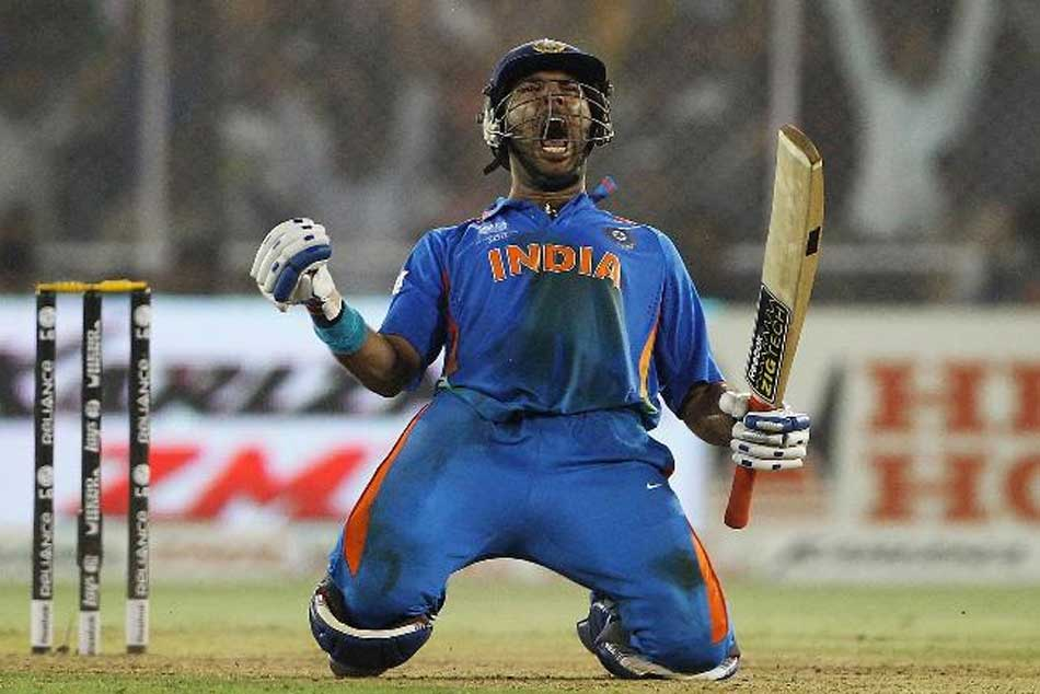 On this day Yuvraj Singh battles illness into World Cup glory