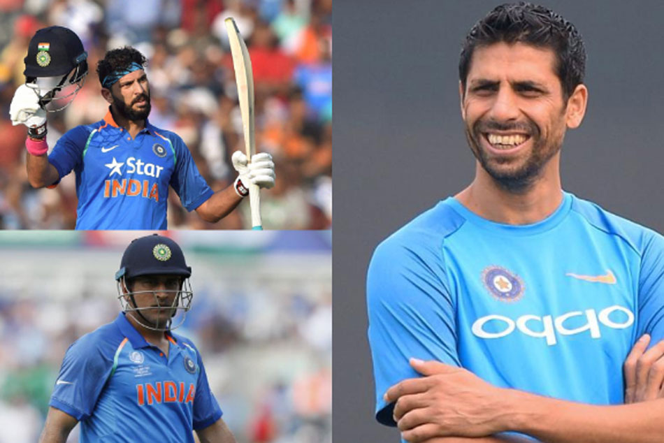 Ashish Nehra feels Yuvraj Singhs performance under MS Dhoni was impeccable