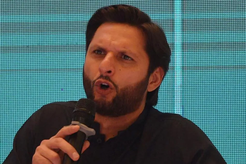 Shahid Afridi holds ration drive for Hindu and Christian minorities in Pakistan
