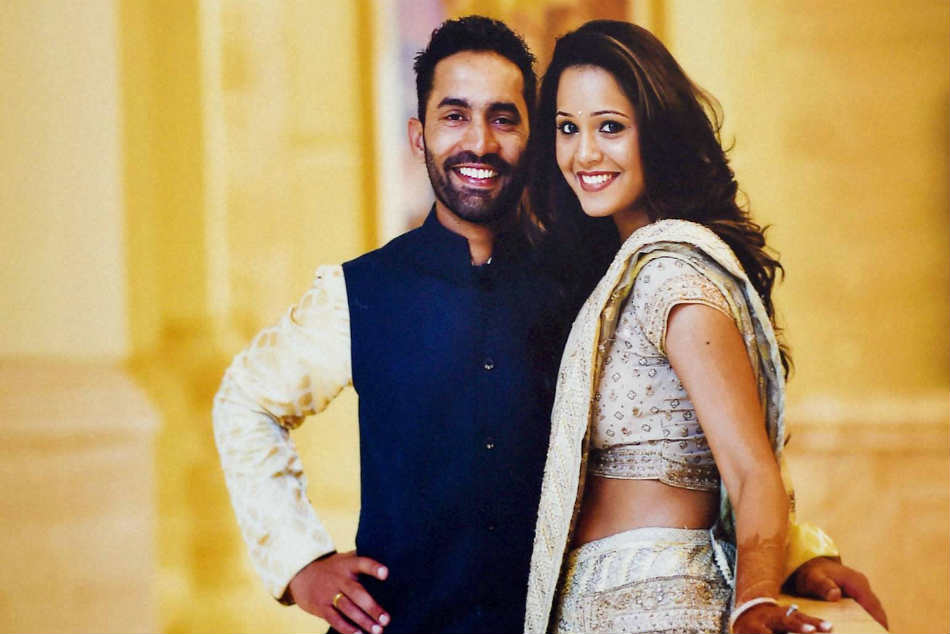 Dipika Pallikal Says Dinesh Karthik and I prefer not to talk about respective sports when at home