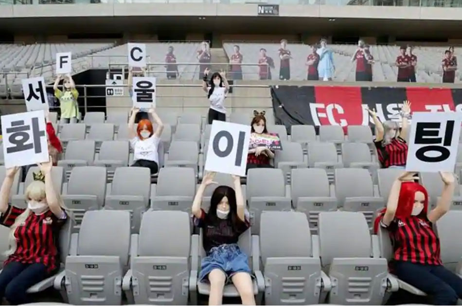 Fc Seoul Fined For Placing Dolls In The Empty Stands