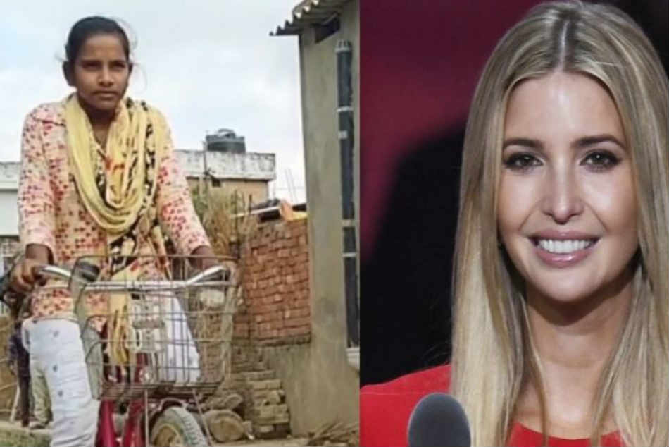 Ivanka Trump Praises Indian Girl Who Pedaled 1 200 Km From Km With Father