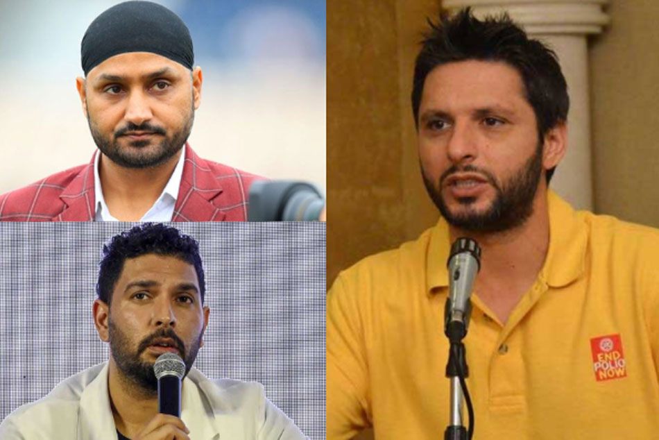 Shahid Afridi responds on Yuvraj, Harbhajan Singhs reaction against him over controversial remarks