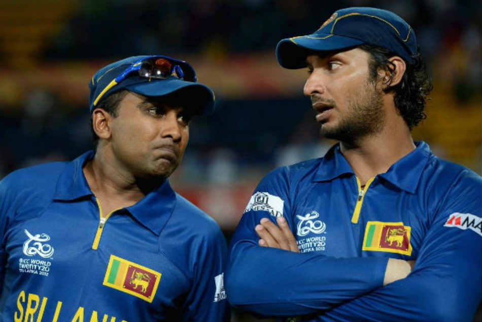 Kumar Sangakkara and Mahela Jayawardena reacts after former Sri Lanka Sports Minister alleges 2011 World Cup final was fixed
