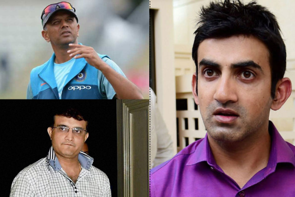 Gautam Gambhir Says Rahul Dravid had much bigger impact in Indian cricket than Sourav Ganguly