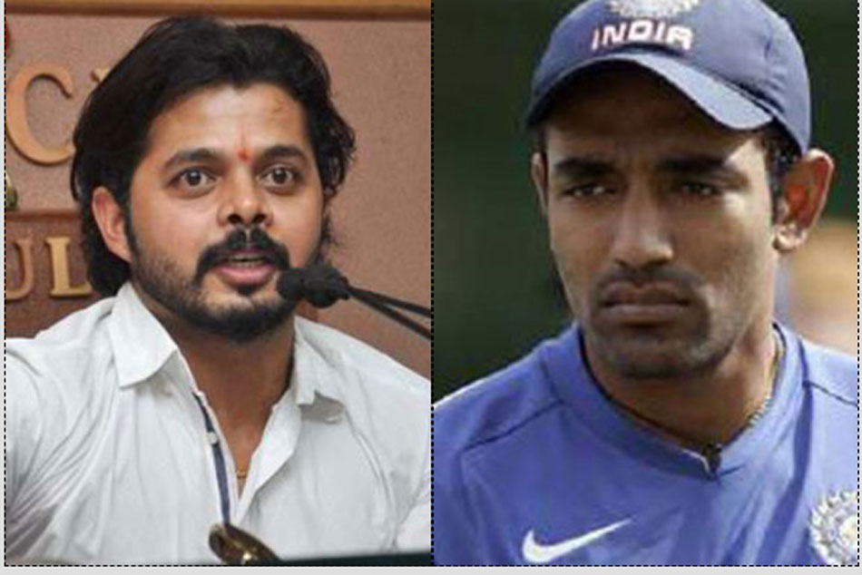Sreesanth Lashes Out At Robin Uthappa On Criticism Of His Catching