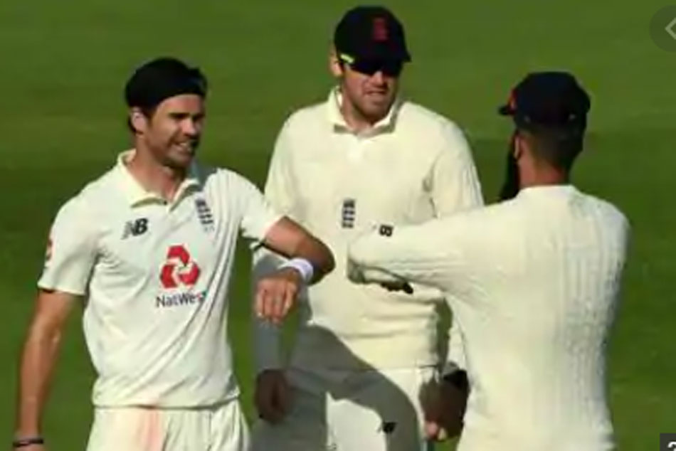 No handshakes or high-fives: James Anderson gives first glimpse of post-Coronavirus celebrations in cricket