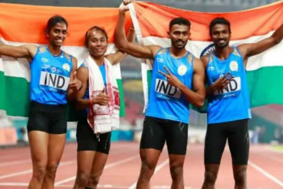 India S 2018 Asian Games Mixed Relay Medal Upgraded To Gold