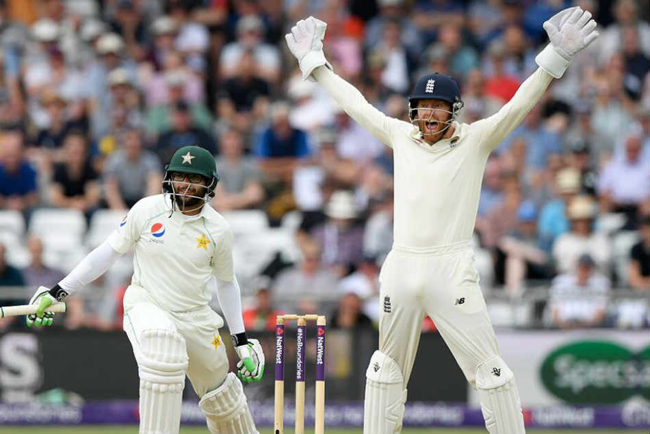 England vs Pakistan 1st Test: Rain stops play after Babar Azam brings up his half century