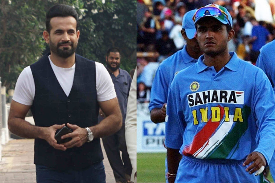 Irfan Pathan Says Sourav Ganguly knew the right players to back
