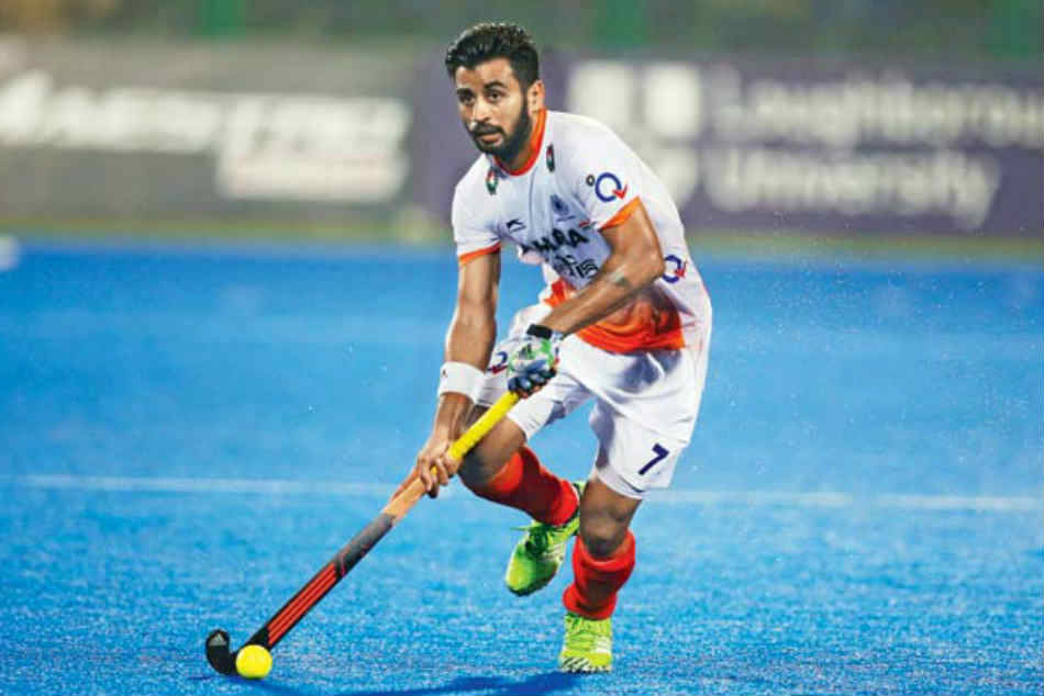 India Hockey Captain Manpreet Singh And Four Other Test Positive For Coronavirus