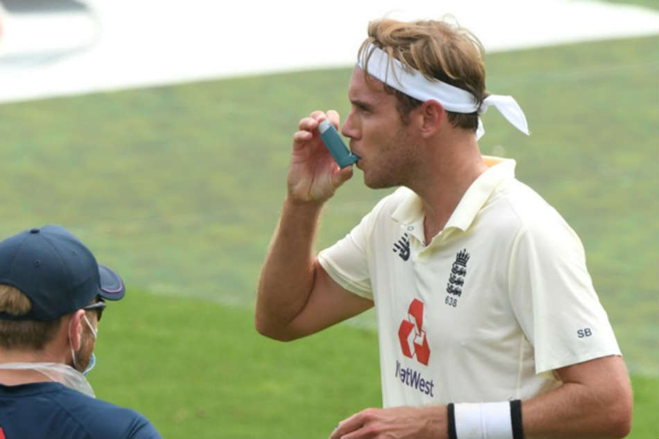 England vs Pakistan: Why Stuart Broad required an inhaler during Southampton Test against Pakistan