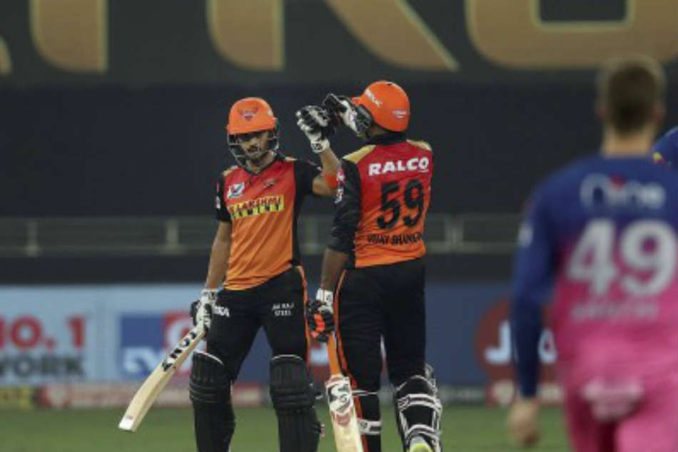 IPL 2020, RR vs SRH: Manish Pandey, Vijay Shankar shine as Sunrisers Hyderabad thrash Rajasthan Royals