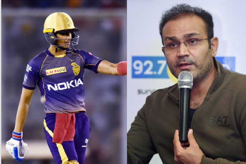 IPL 2020: KKR Should Demote Shubman Gill in The Batting Order if he Cannot be More Aggressive Says Virender Sehwag