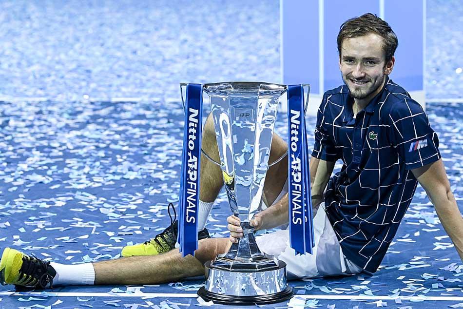 Daniil Medvedev Win Atp Finals Title