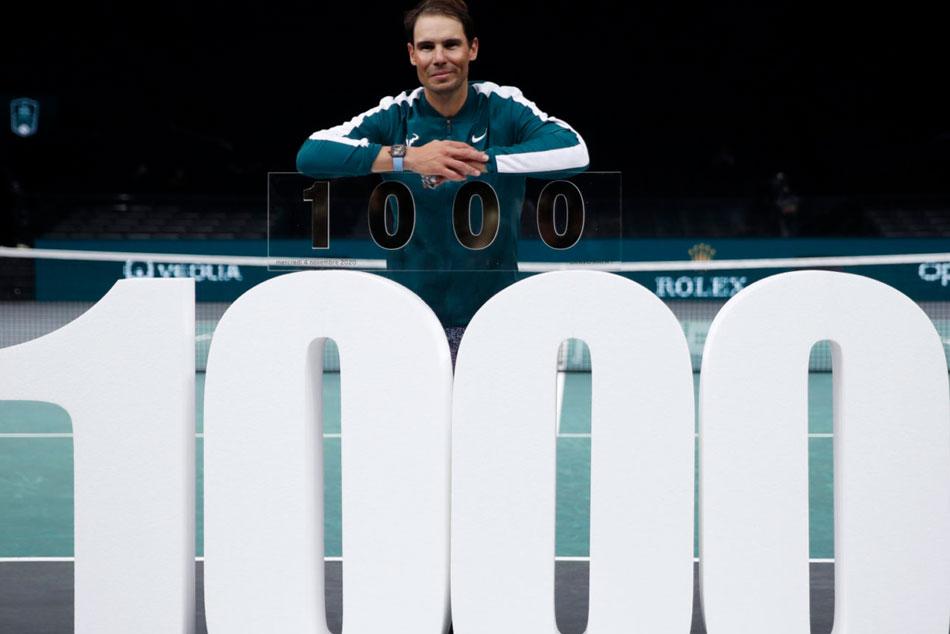 Rafael Nadal Got 1000 Career Wins