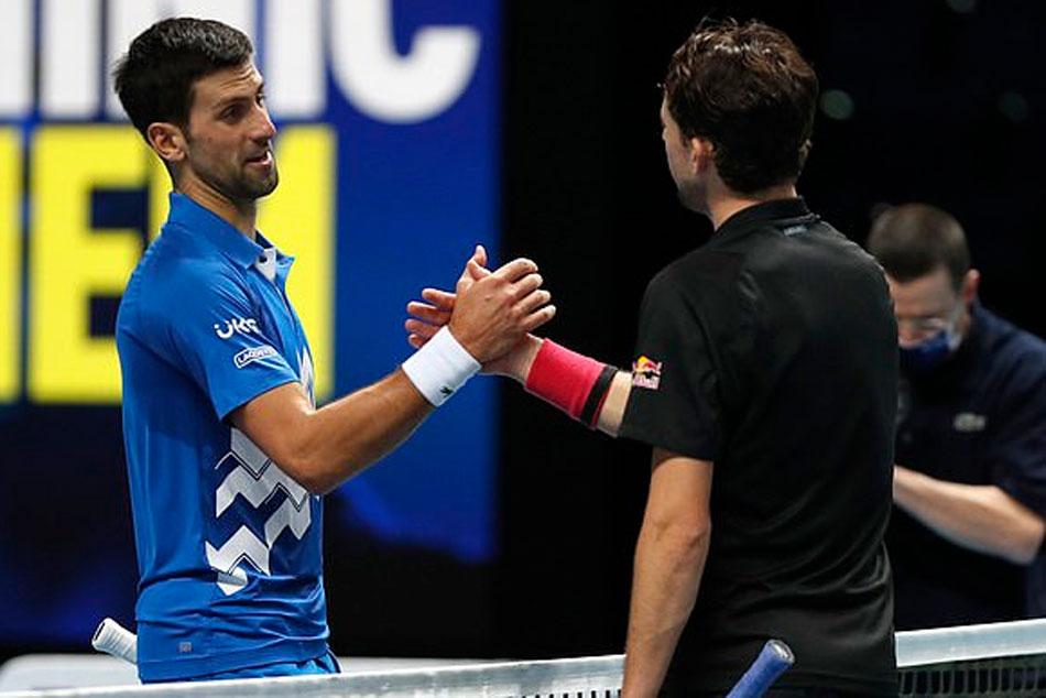 Dominic Thiem Beats Novak Djokovic In Thriller To Reach Final Match At Atp Finals