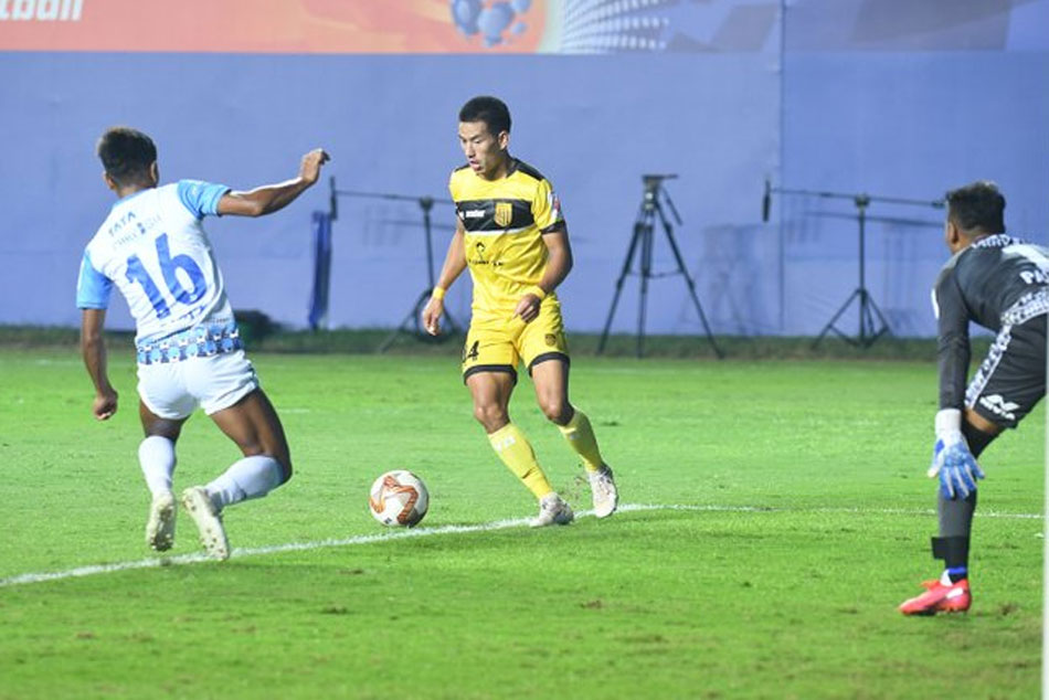 Isl 2020 21 Hyderabad Fc Held By Jamshedpur Fc In 1 1 Draw