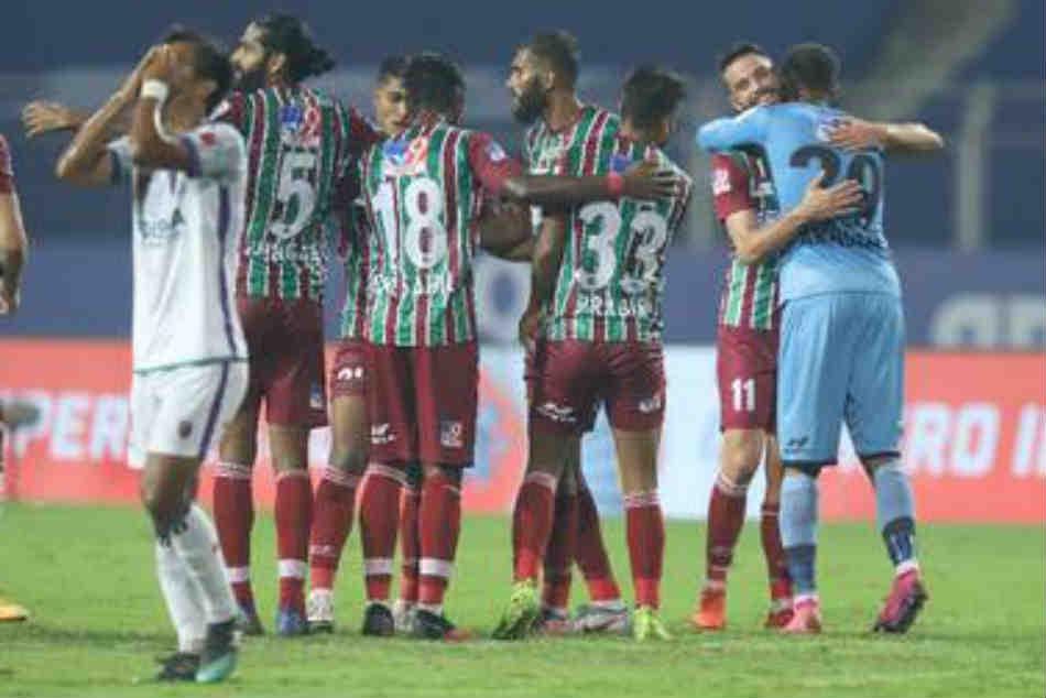 Isl 2020 21 Atk Mohun Bagan Nicked A 1 0 Win Over Odisha Fc