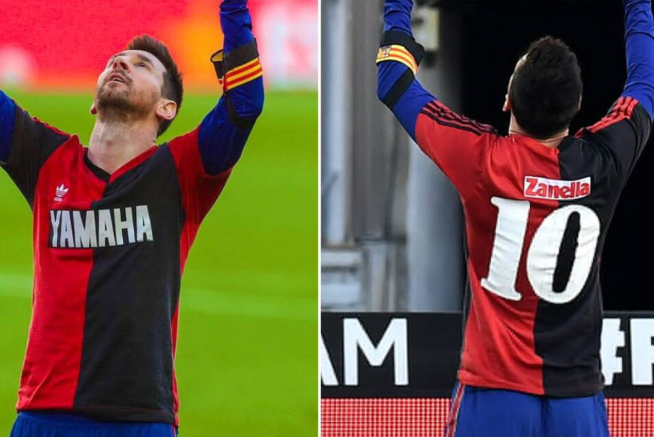 Lionel Messi And Barcelona Fined 780 Euros For Tribute To Diego Maradona