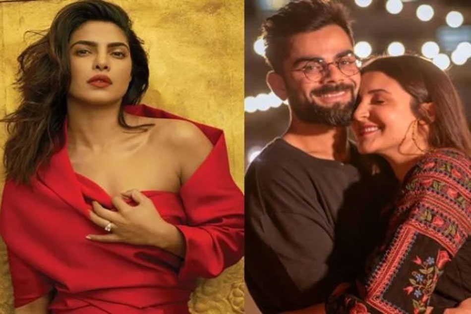 Priyanka Chopra sends love to Virat Kohli and Anushka Sharma