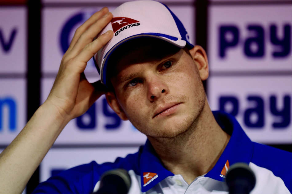 Steve Smith Denies Scuffing Rishabh Pants Batting Mark