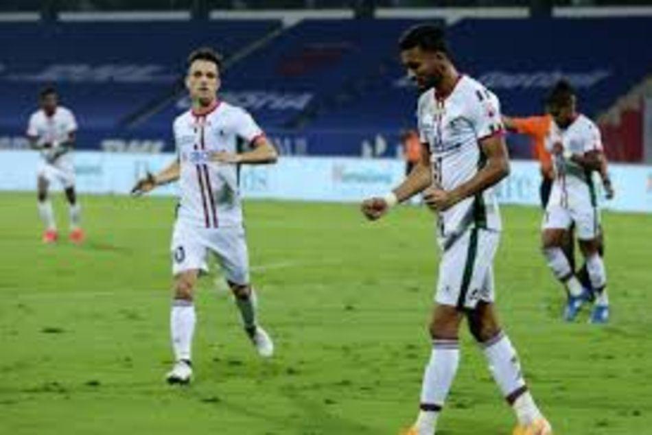 Isl 2020 21 Krishna Manvir Brace Helps Atk Mohun Bagan Win 4 1 Over Odisha Fc