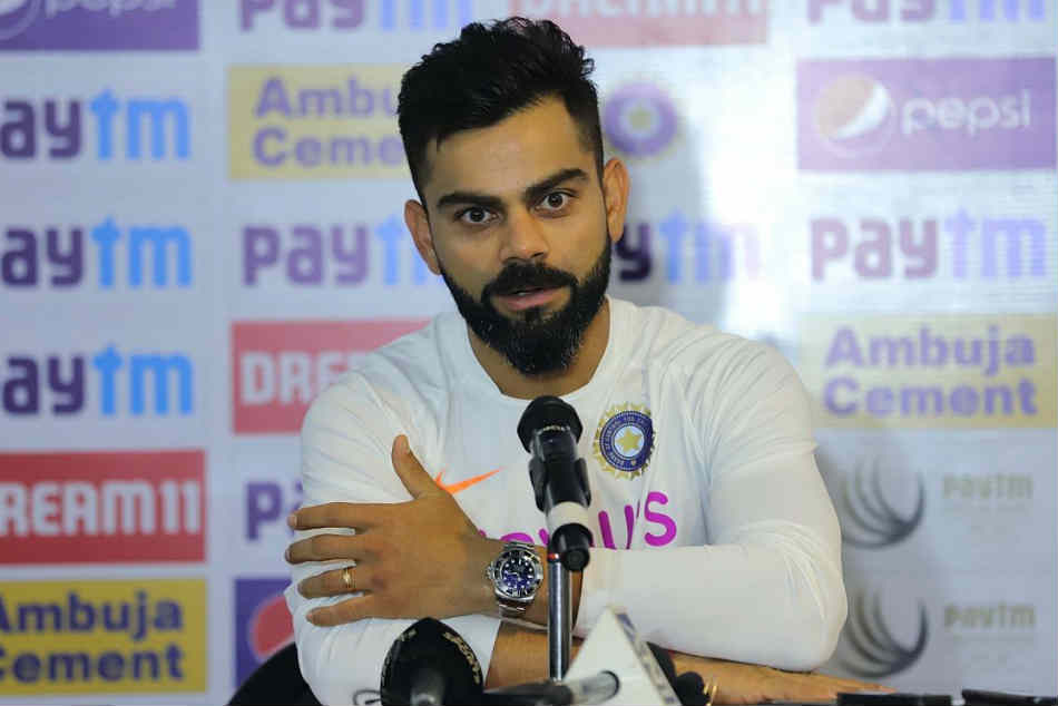 Means Nothing To Me: Virat Kohli on possibly breaking MS Dhonis Test captaincy Record