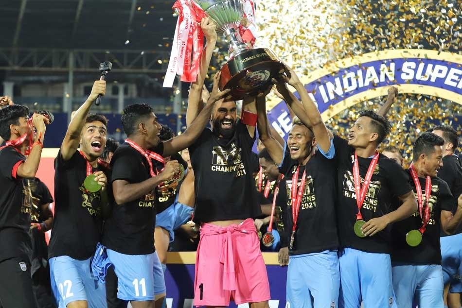 Isl 2020 21 Bipin Singh Shine Mumbai City Fc Wins Title Beats Atk Mohun Bagan