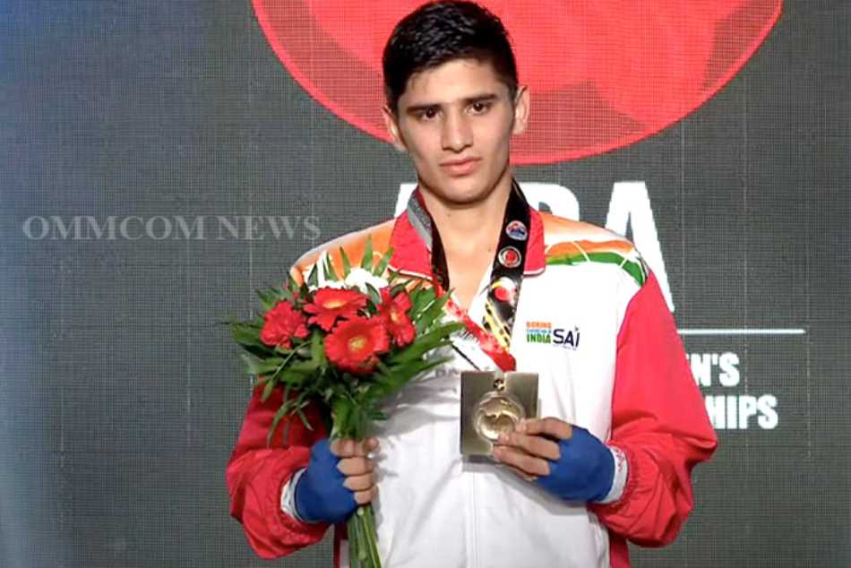 Sachin clinches gold medal in World Youth Boxing Championships