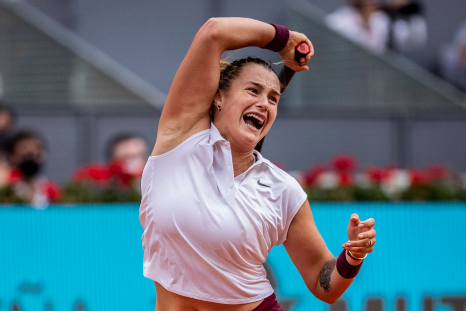 Aryna Sabalenka Beats Ashleigh Barty To Win Madrid Open 2021