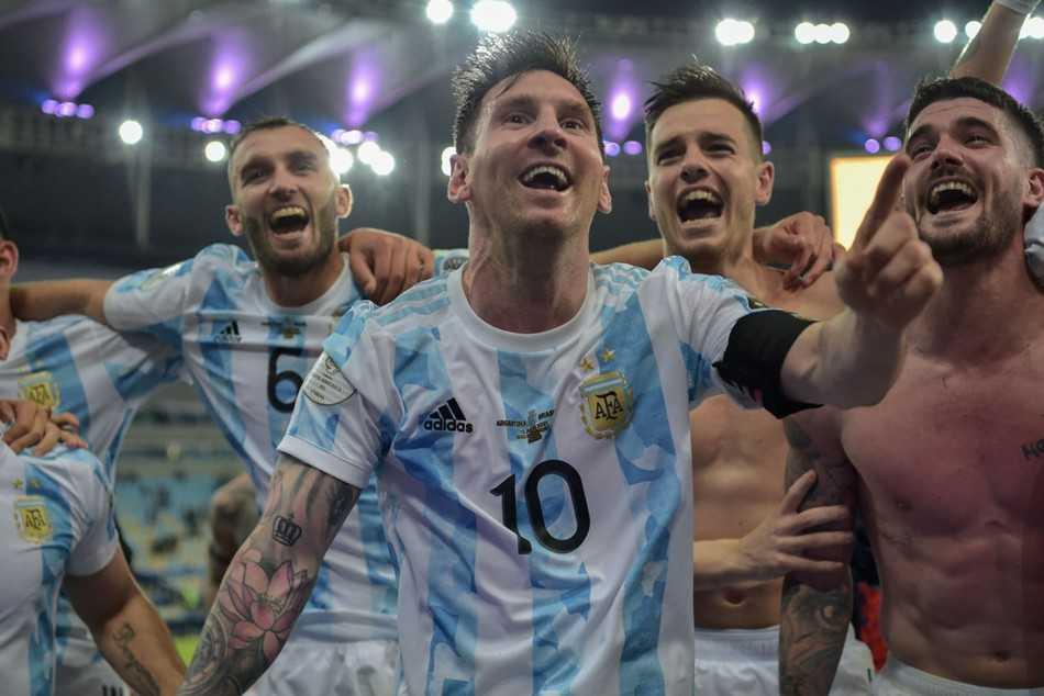 Argentina Captain Lionel Messi Dedicates Copa America Victory To Late Diego Maradona