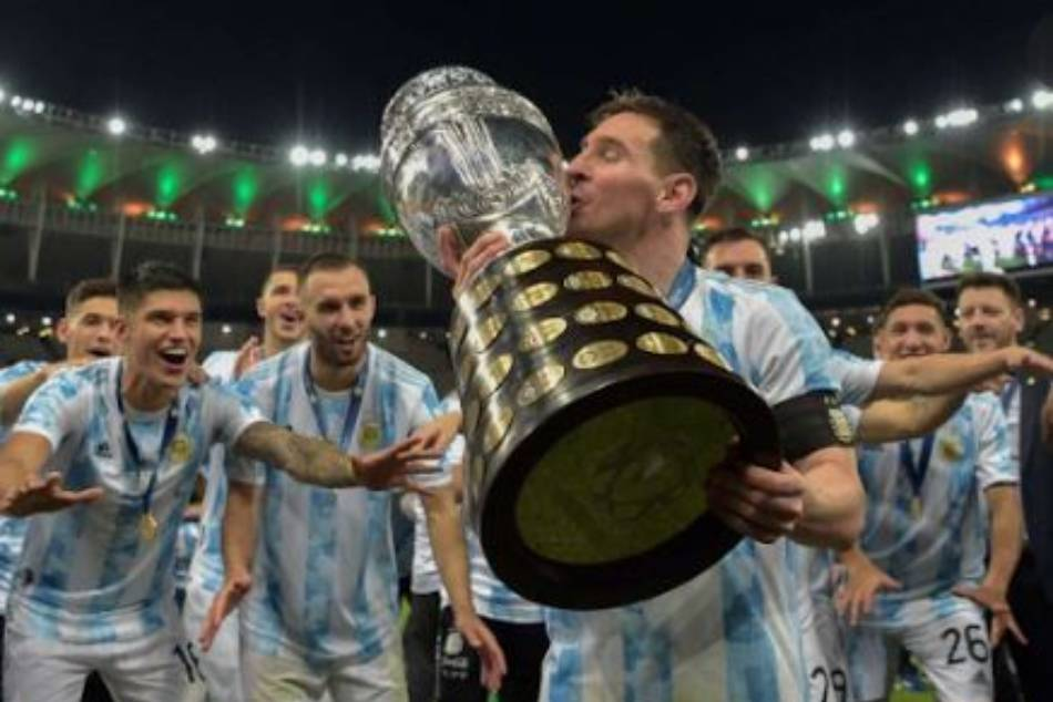 Copa America Argentina Beat Brazil 1 0 To Win End 28 Year Wait