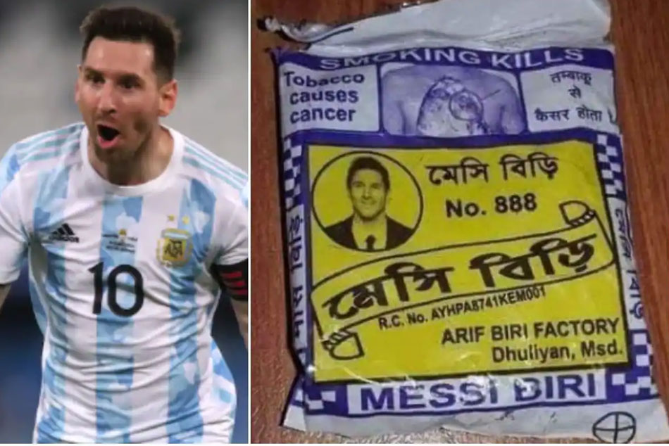 Lionel Messis Photo On Beedi Packet Goes Viral