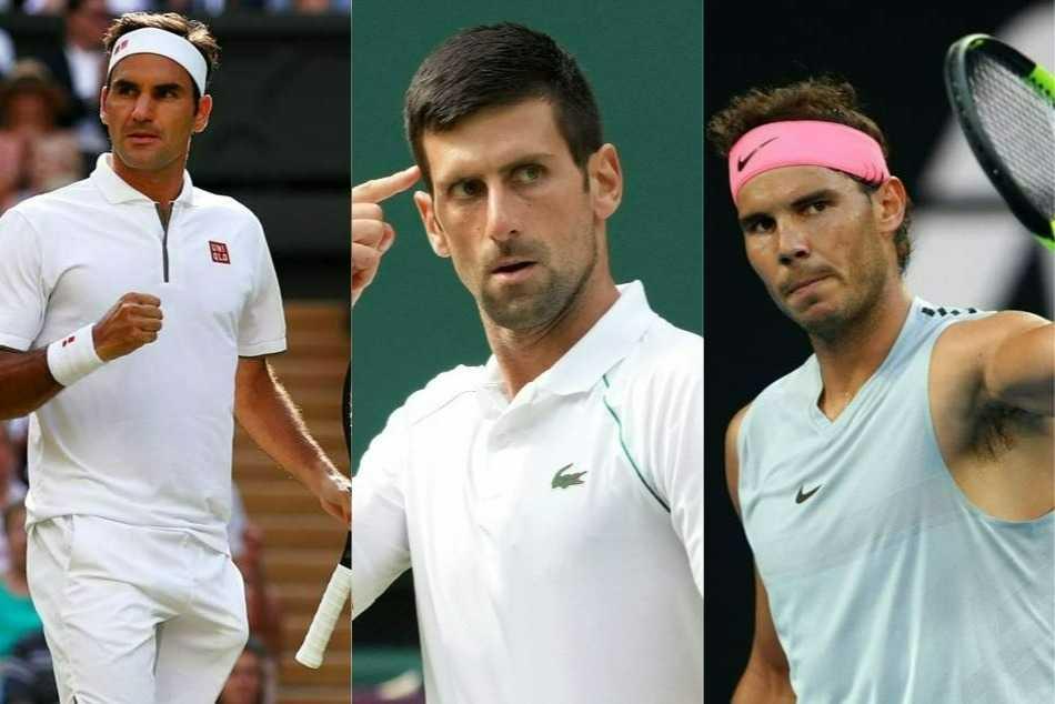 Roger Federer Vs Novak Djokovic Vs Rafael Nadal Grand Slams Head To Head Stats And Records