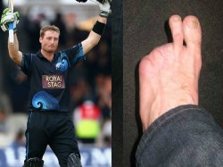 Two Toes Guptill Maimed Left Foot Doesn T Stop Nz Star From Demolishing Windies