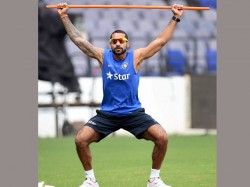 Shikhar Dhawan Bowling Action Reported As Suspicious