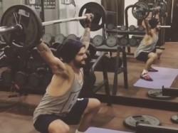 Watch Video Virat Kohli Working Tirelessly At Gym Gives Film Stars A Stiff Competitio