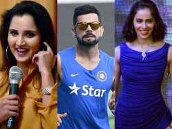 Sania Mirza Virat Kohli Lead Pack Of 56 Indians In Forbes Asia List