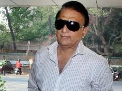 Sunil Gavaskar Stopped Outside Usa Stadium Security Says D