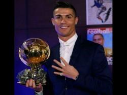 Cristiano Ronaldo Beats Messi Griezmann Win 4th Ballon D Or