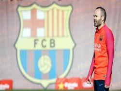 Fc Barcelona Keep Andres Iniesta Until